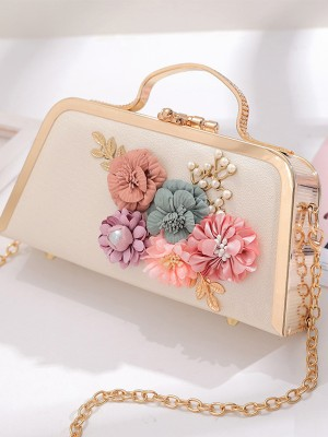 New Handbags With Flowers