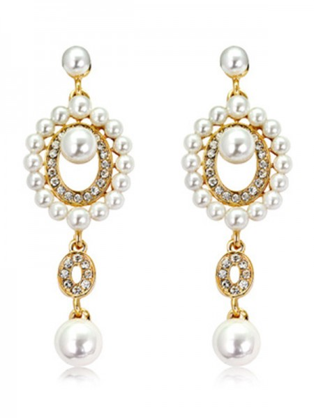 Unique Pearl Earrings For Ladies