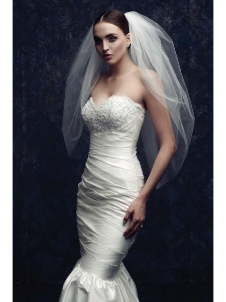 Elegant Tulle Wedding Veils ZDRESS2868