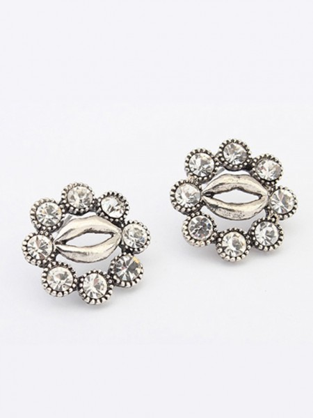 Hyperbolic Lips Stud Earrings J0104482JR