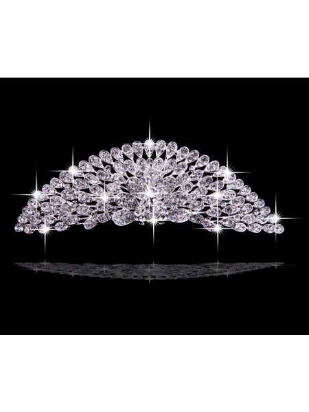 Very Amazing Alloy Flowers Wedding Headpieces
